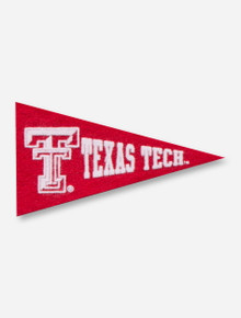 Texas Tech Wool Felt Pennant Magnet