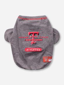 Texas Tech Red Raiders Athletic Dog Shirt