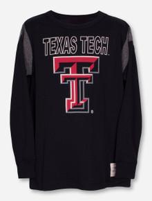 """Garb Texas Tech """"Frank"""" YOUTH Black Long Sleeve Shirt"""