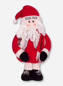 Texas Tech Large Santa Mascot