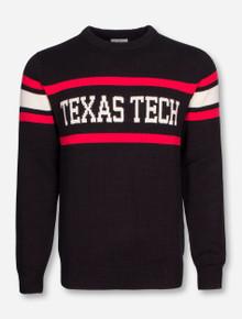 "Texas Tech ""Stadium"" Tri Color Sweater"