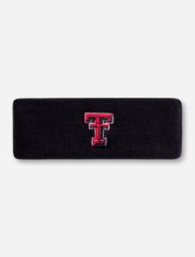 Top of the World Texas Tech Double T Black Headband