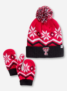 Top of the World Texas Tech Lil' Frost TODDLER Beanie and Gloves