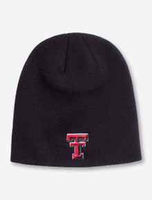 "Top of the World Texas Tech ""Classic"" Black Beanie"