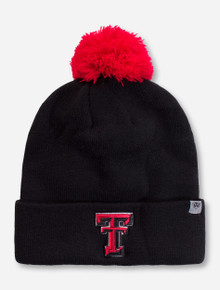 Top of the World Texas Tech Red Raideres Double T Cuffed Beanie