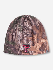 """Top of the World Texas Tech """"Forage"""" RealTree Camo Beanie"""