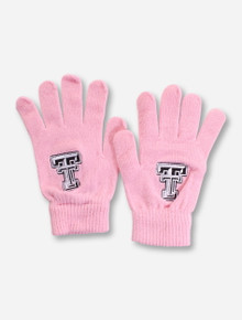 Top of the World Texas Tech Double T on Pink Gloves