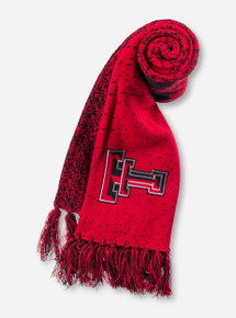 "Top of the World Texas Tech ""Fadeaway"" Red Scarf"