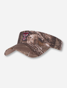 The Game Texas Tech Double T Camo Visor