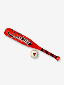 Texas Tech Double T Red Softee Bat and Ball Set