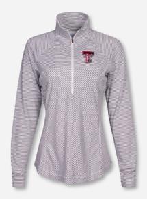 "Columbia Texas Tech ""Layer First"" Women's Half Zip Pullover"