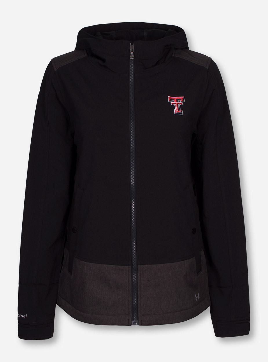 cheap for discount 4d7cf d1a37 Under Armour Texas Tech Red Raiders 2016 Softshell Women s Hooded Jacket