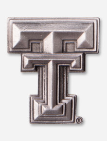 Texas Tech Pewter Double T Magnet