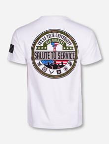 Texas Tech Salute To Service White T-Shirt