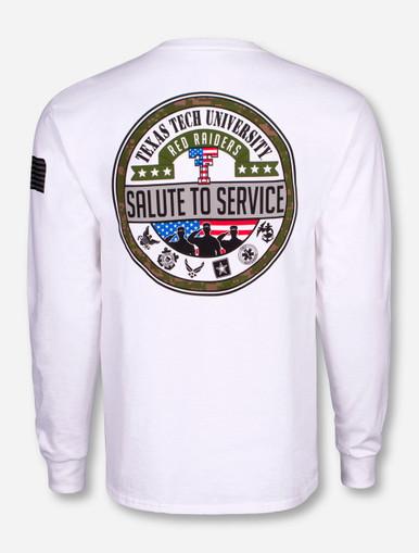 0e383eef3a1 Texas Tech Red Raiders Salute To Service Long Sleeve Shirt