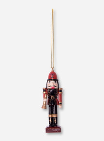 Texas Tech Nutcracker with Trumpet Christmas Ornament