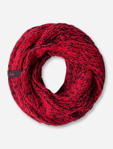 ZooZatz Texas Tech Corded Knit Infinity Scarf