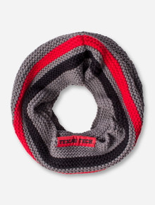 ZooZatz Texas Tech Tube Knitted Infinity Scarf