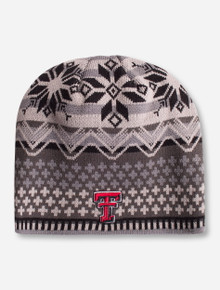 "Zephyr Texas Tech ""OSLO"" Double T Knit Beanie"
