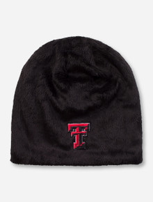 "Zephyr Texas Tech ""Minx"" Double T Faux Fur Beanie"