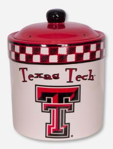 Texas Tech Gameday Ceramic Cookie Jar