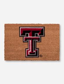 Texas Tech Double T Course Fiber Door Mat