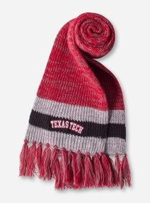 The Game Texas Tech Banded Crochet Scarf