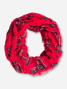 ZooZatz Texas Tech Double T Infinity Scarf