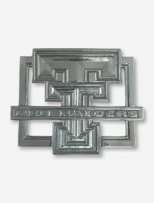 Double T & Texas Tech Pewter Trivet