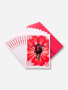 Texas Tech Masked Rider Holiday Card Set
