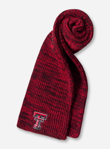 47 Brand Texas Tech Orca Red Knitted Scarf