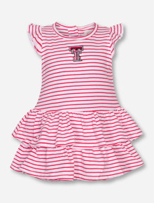 "Garb Texas Tech ""Emily"" INFANT Onesie Dress"