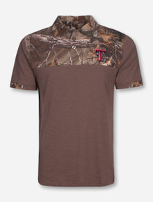 Arena Texas Teach Beam RealTree Polo