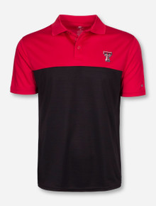 Arena Texas Tech In the Vault Red and Black Polo