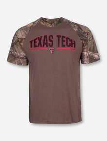 Arena Texas Tech Home Range RealTree Camo T-Shirt