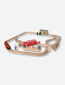 Melissa & Doug Texas Tech Large Swivel Bridge Train Set