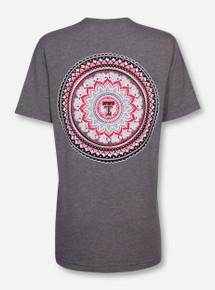 "Texas Tech ""Tapestry"" Heather Grey Triblend T-Shirt"