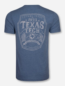 "Texas Tech ""How the West Was Won"" Heather Denim T-Shirt"