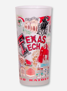 Catstudio Texas Tech Red Raiders Frosted Tumbler