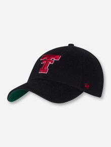 """47 Brand Texas Tech """"Calvin Franchise"""" Throwback Double T Fitted Cap"""