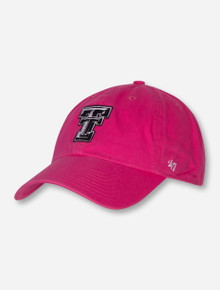 "47 Brand Texas Tech ""Rebound Clean Up"" Women's Adjustable Cap"
