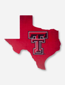 """Texas Tech Red Raiders """"Home State"""" Wood Sign"""