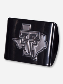 Texas Tech Lone Star Pride on Black Hitch Cover