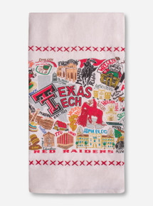 Catstudio Texas Tech Red Raiders Tea Towel