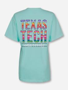 Texas Tech Baja Blanket Stack on Island Reef T-Shirt