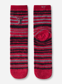 "47 Brand Texas Tech Red Raiders ""Shiloh"" Half Crew Socks"