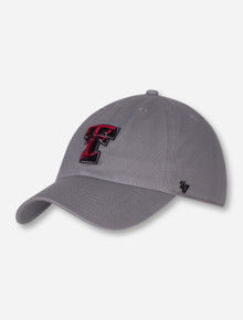 """47 Brand Texas Tech """"Storm Clean Up"""" YOUTH Grey Cap"""