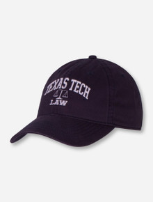 Legacy Texas Tech Law Adjustable Navy Cap