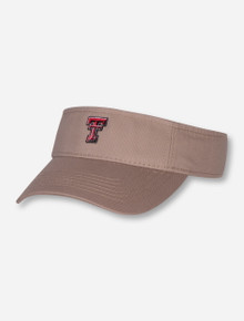 Legacy Texas Tech Red Raiders Double T Khaki Visor