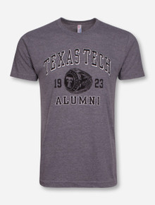 "Texas Tech ""Alumni Ring"" Heather Grey T-Shirt"